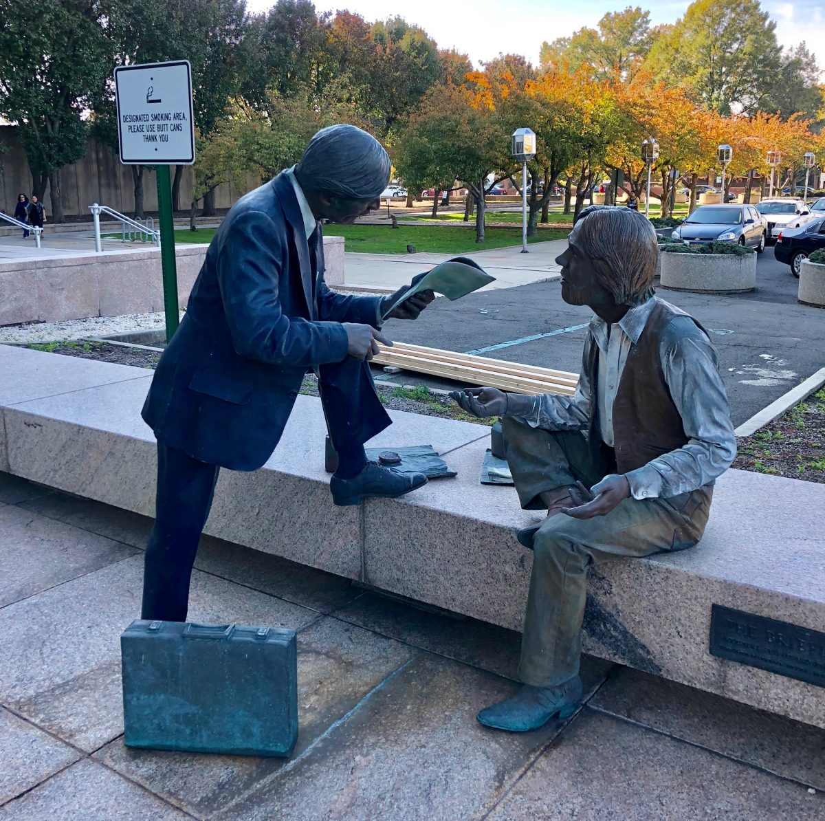 Image of The Briefing by J. Seward Johnson