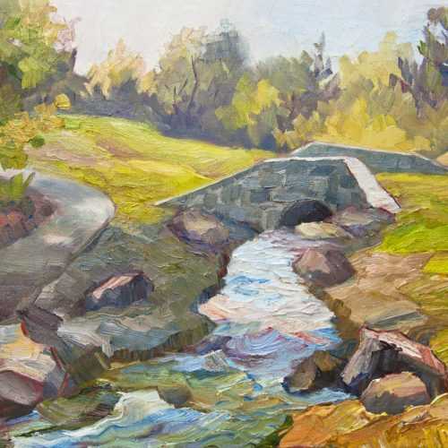 Image of painting Rood Park Bridge