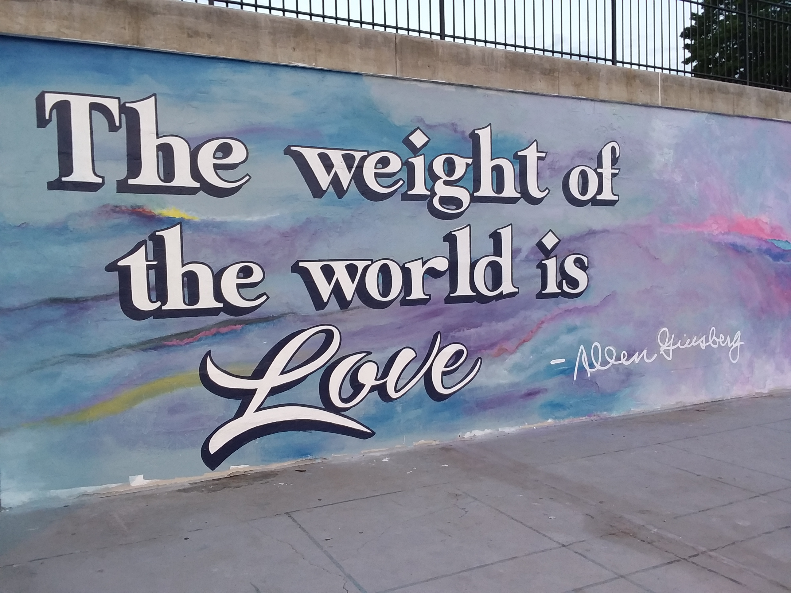 Image of The Weight of the World is Love by Halls That Inspire of Paterson, NJ and David Thompson