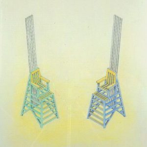 Singing Beach Chairs (Study) by Douglas Hollis