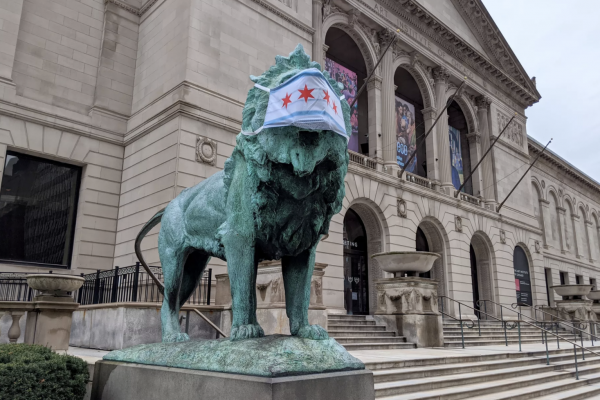 The Art Institute of Chicago. Photo credit Chicago Sun Times.
