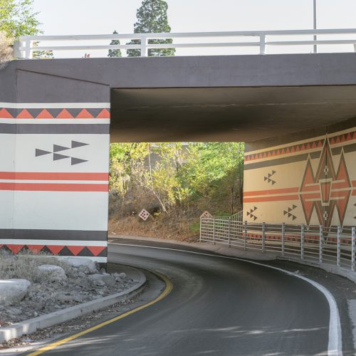 Image of Native Baskets Mural