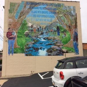 Water Street Rescue Mission Mural